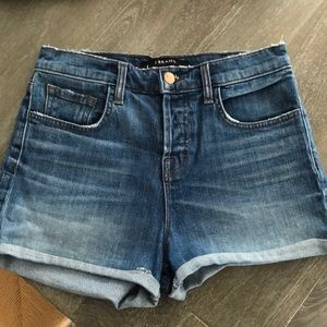 J BRAND jean shorts